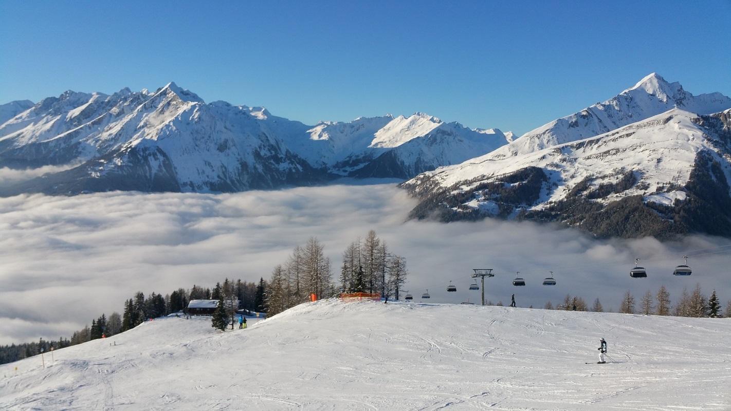The Ski Area Of Matrei In Osttirol