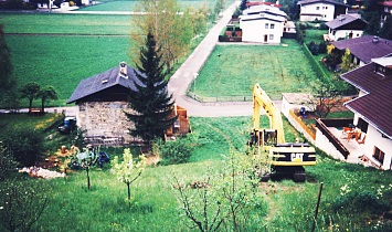 "Digger at the ""Roanlen"" in May 1995"
