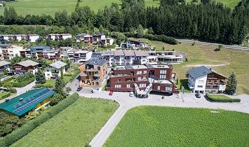 Fantastic view of the entire SUN complex Matrei in Osttirol - set on a lovely sunny location on the Sonnenhang