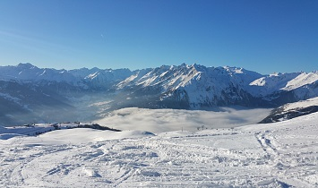 Großglockner Resort Kals Matrei ski area, with views to Virgental